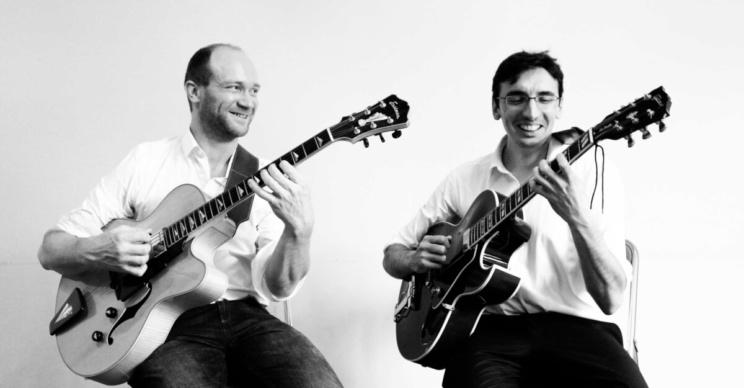 Duo de jazz manouche pour animer vos évènements en Belgique